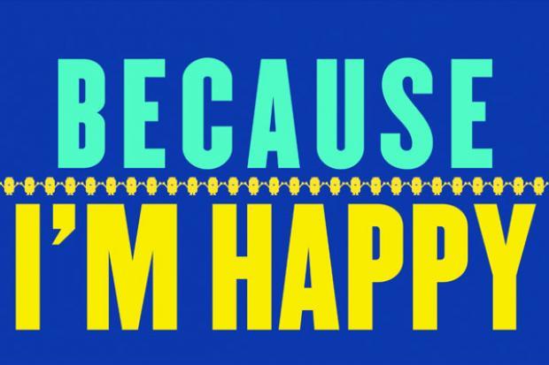 becaus im happy